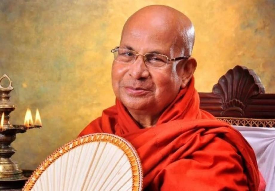 Nirvana for the Mahanayake Thero